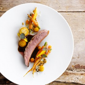 hoofdgerecht kalfsvlees, main course veal