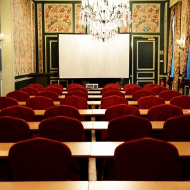 banket zaal schoolstijl en scherm, banqueting room school style and screen