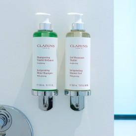 Clarins benodigdheden, Clarins amenities