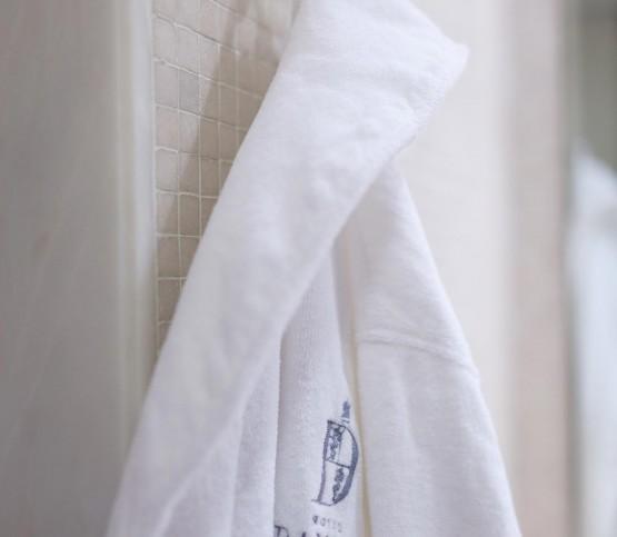 badjas hotel Damier, bathrobe Hotel Damier