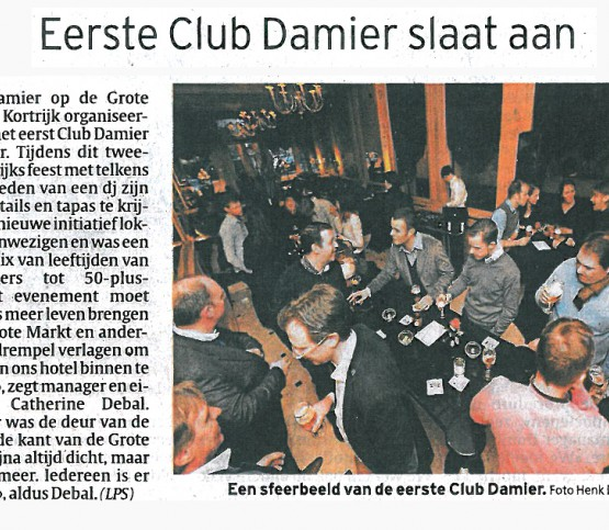 Artikel Club Damier, article Club Damier