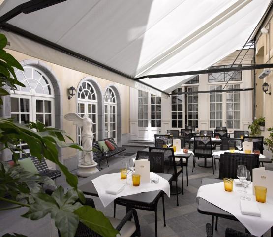 binnenterras restaurant, inner terrace restaurant