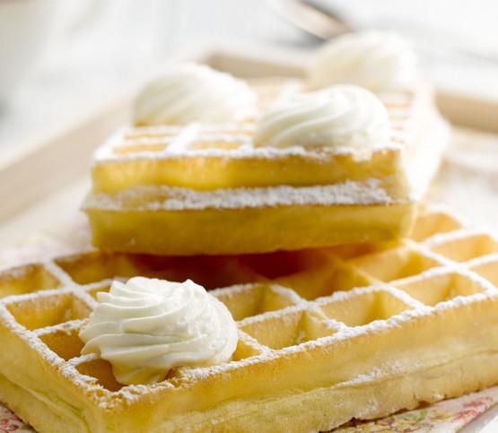 Belgische wafel, Belgian waffle